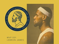 MVP 001 - Lebron James