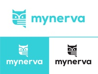 Mynerva App Logo Concept