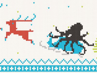 Holiday Wallpaper Desktop (close up) sweater christmas holiday wallpaper vector illustration brand
