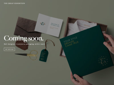 E-commerce packaging design within reach
