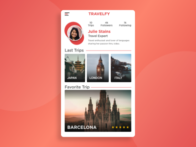 morning warm up #27 web design visual design ux ui product mobile travel design clean