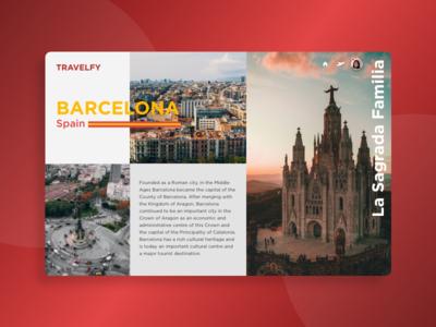 morning warm up #29 web design visual design ux ui product landing page travel design clean