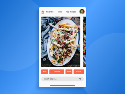 morning warm up #31 mobile visual design ux ui product landing page food design clean