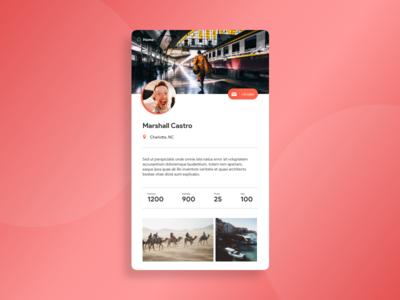 morning warm up #32 web design visual design ux ui product mobile travel design clean
