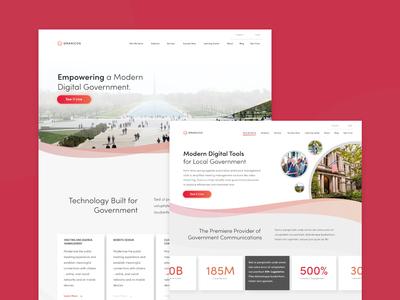 Granicus website Redesign