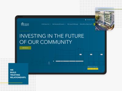 Beacon Partners Site Redesign.