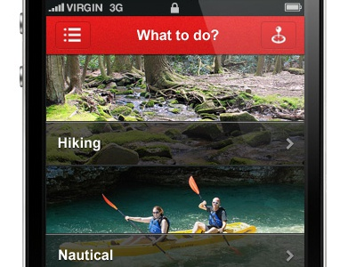 Sausalito mobile app mobile ui interaction