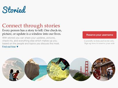 Storied Feedback ui design website rebound feedback