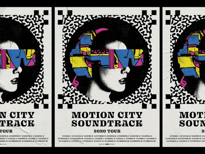 Motion City Soundtrack Tour Poster