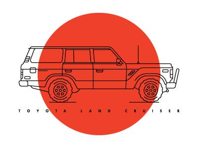 Toyota Land Cruiser vehicle off-road truck car yellow land cruiser toyota