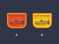 Gitche Gumee Patch Color