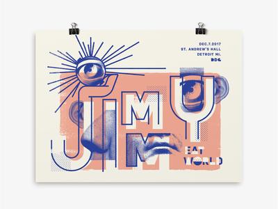 Jimmy Eat World Gig Poster