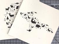 U.P. Animal Print