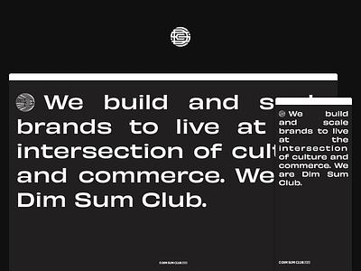 dimsumclub.co web design