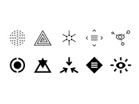 Abstract Icons, Set 2