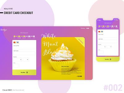 Daily UI  #002 ui design web daily ui dailyui dailyui 002