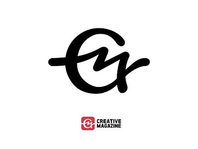 Creative Magazine logo typography design vector logotype logo branding
