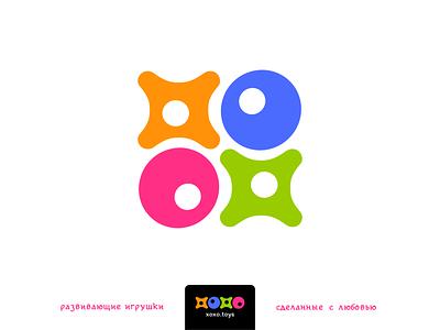 XOXO toys xoxo design vector logotype logo branding