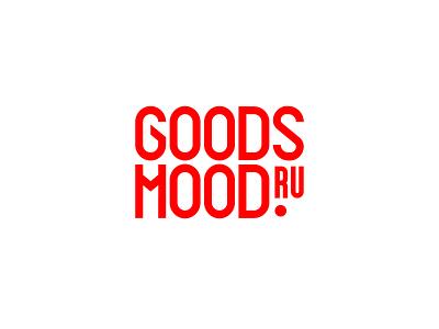 Goods Mood typography logotype logo branding vector