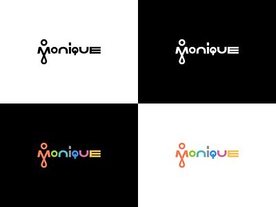 Who is Monique? illustration vector logotype logo branding