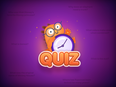 Nicola Quiz/Trivia logo dark challenge animal pet e-learning elearning education minimal purple logo purple icon sketch illustraion game trivia dinosaur dino art