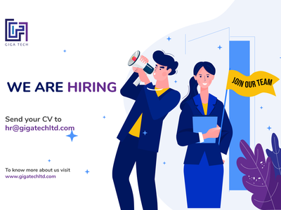 Giga Tech might be the place for you typography app icon job board artificialintelligence giga tech giga tech python programming .net python javascript vacancy job search job