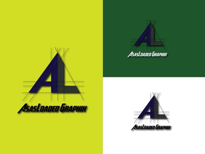 AsasLoaded Graphix geometric art icon branding logo designer design art minimal illustration design