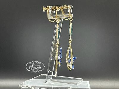 Morpho Rhetenor Helena accessories logo brooch butterfly embroidery
