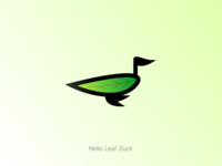 Hello Leaf Duck