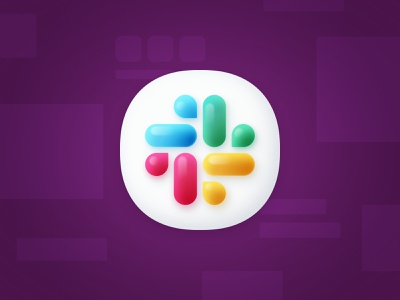 Slack Big Sur dock icon slack macos icon dock big sur sketch