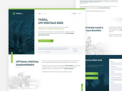 YASKA Landing Page