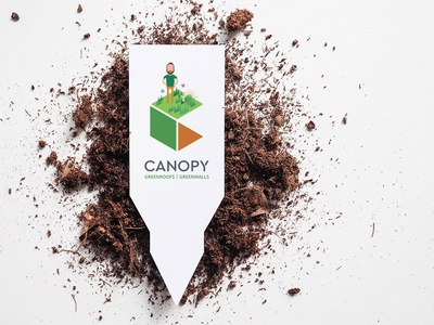 Canopy business cards