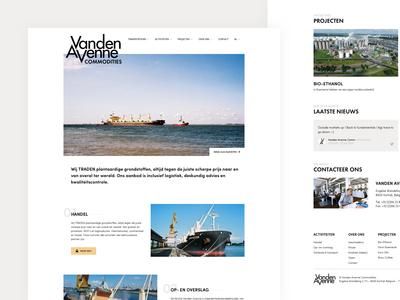 Vanden Avenne - Homepage