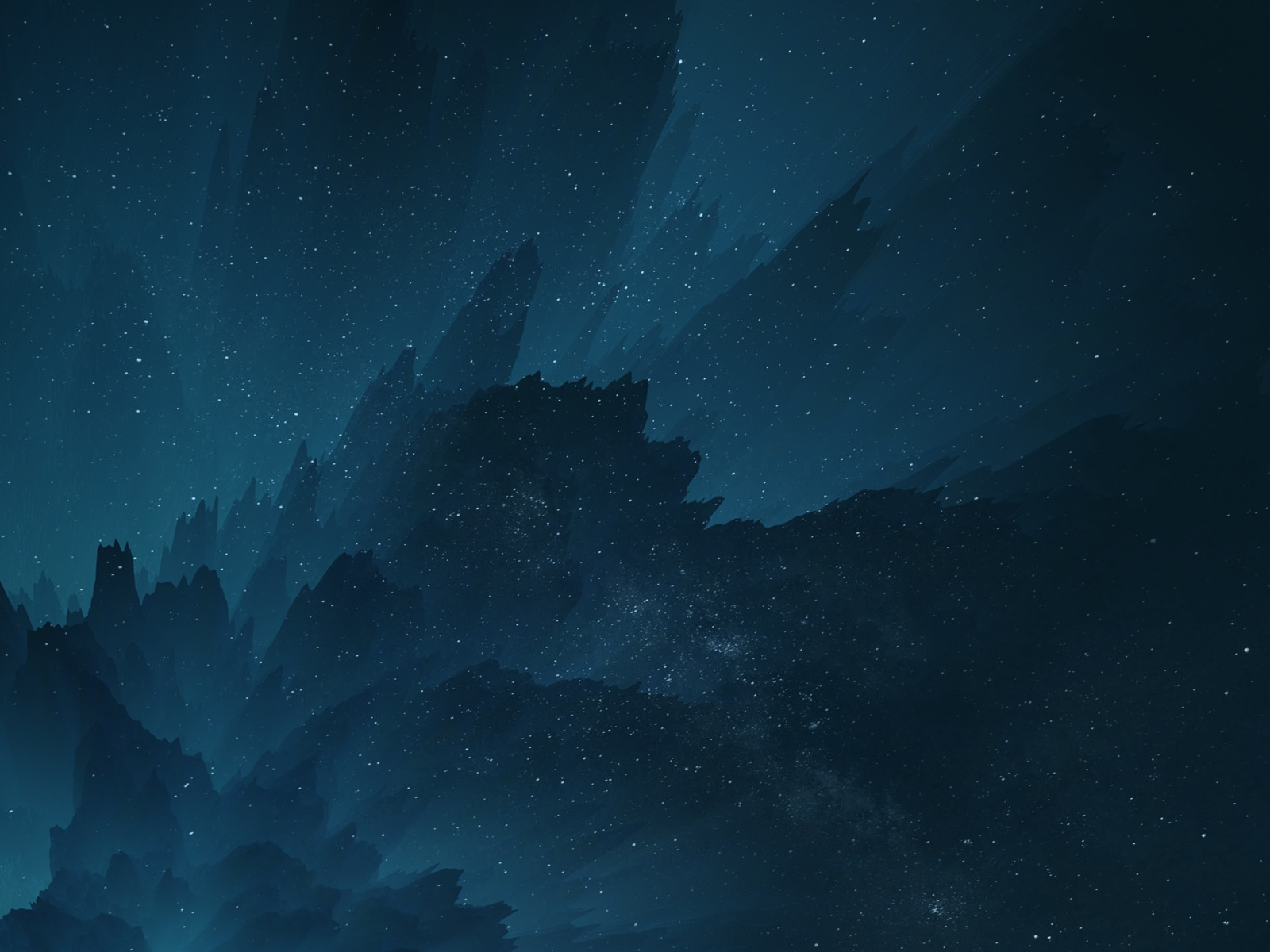 Abstract Space Wallpaper By Arthur Lambillotte On Dribbble