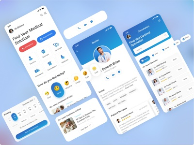  Medical iOS App service doctor creative pigeon medical app nurse insurance health healthcare hospital app health app medical care medical logo doctor app health consultations ui clean ux ios app design mobile design mobile app