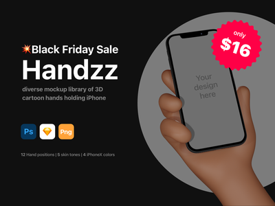 HANDS BLACKFRIDAY DRIBBBLE web illustration ui photoshop sketch mock-up mockup iphone12 iphonex iphone character hands
