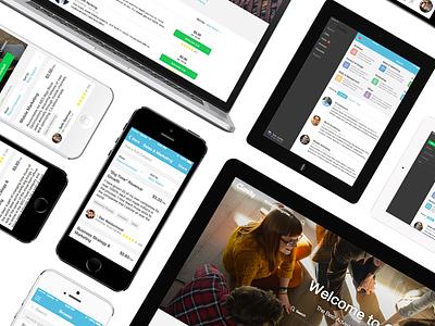 Clarity.fm startup homepage ux ui design device iphone ipad app responsive web clarity