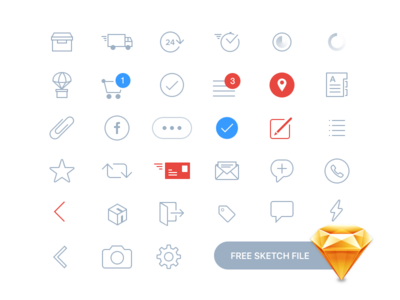 Free Various Icons for Your Project