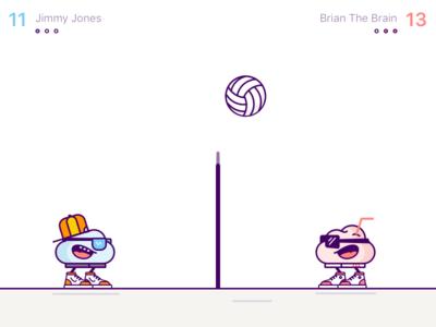 Brainball design vector old dos iphone ios game