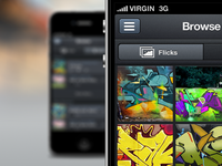 Graffiti Walls App - Browse