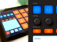 Maschine concept for iPad