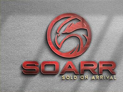 Soarr logo tshirt design tshirt brand identity brand graphic design branding design stationery illustrator illustration minimal business card logo designer logo design logo
