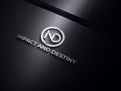 ND logo graphic design tshirt design tshirt brand identity brand branding design stationery illustrator illustration minimal business card logo designer logo design logo