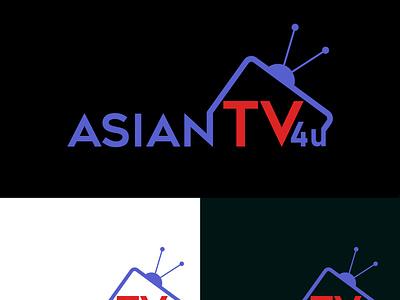 TV Channel Logo Design logo art logo type brand tshirt design tshirt graphic design vector branding design illustration illustrator business card minimal logo designer logo design logo