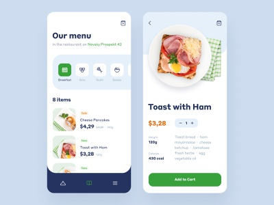 Food Delivery App Design delivery food interface ios mobile app ux ui