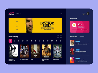 Soft Cinema Web Platform Interaction