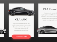 Mercedes CLA Cards