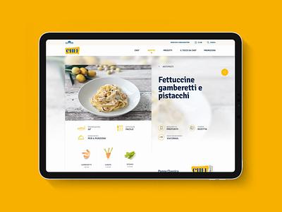 Chef — Recipe Ingredients modal interaction sketch hero ux design brand ingredients nutrition recipe ipad pro restyling