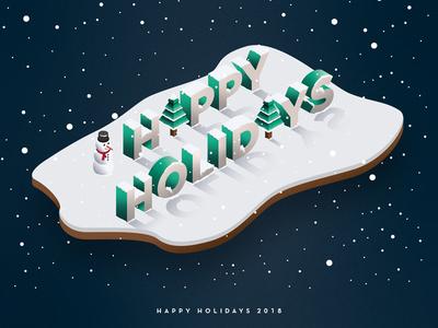 Happy Holidays 2018