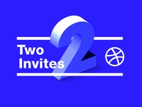 Dribbblers Wanted! Two Invites